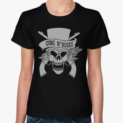 Женская футболка Guns N' Roses