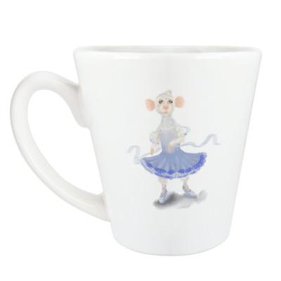 Чашка Латте мышка