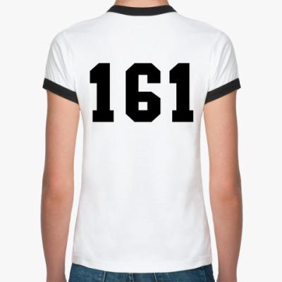 Женская футболка Ringer-T Ростов 161