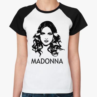 Женская футболка реглан Madonna