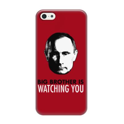 Чехол для iPhone 5/5s Big Putin Is Watching You