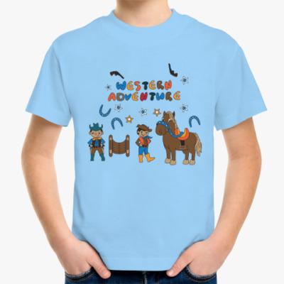 Детская футболка Вестерн
