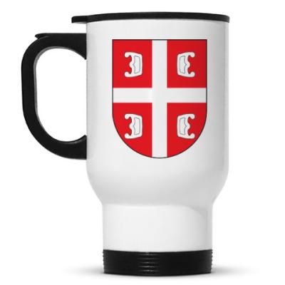 Кружка-термос Сербский щит