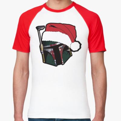 Футболка реглан Christmas Boba
