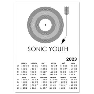 Календарь Sonic Youth
