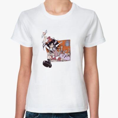 Классическая футболка  Flying Cake