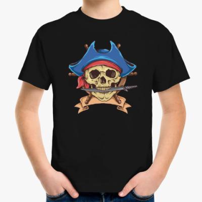 Детская футболка Море. Пират.