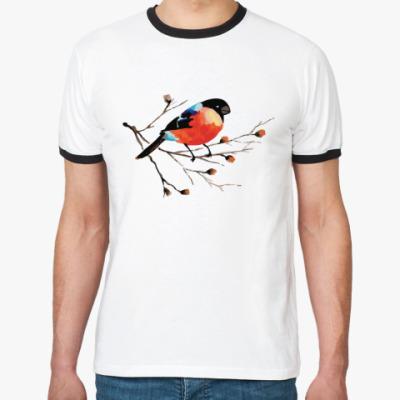 Футболка Ringer-T Снегирь