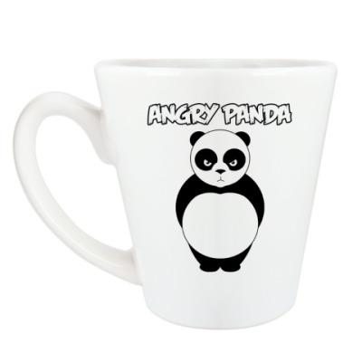 Чашка Латте ANGRY PANDA