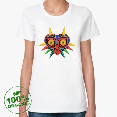 Женская футболка из органик-хлопка Маска Маджоры