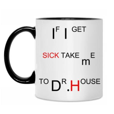 Кружка Take me to Dr.House