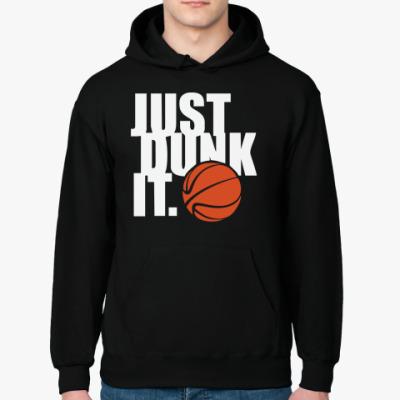 Толстовка худи Just dunk it