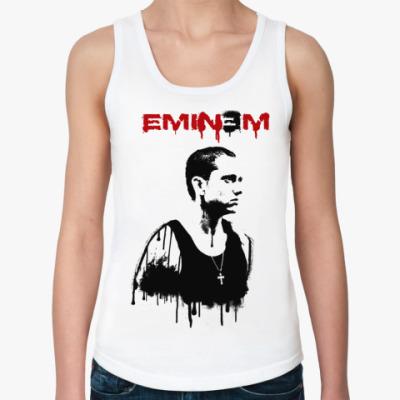 Женская майка Eminem graffity