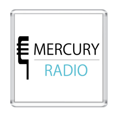 Магнит  Mercury Radio