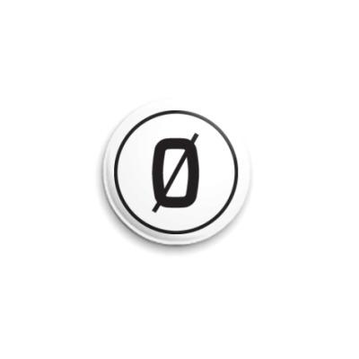 Значок 25мм  25 мм Лого Киберсекта