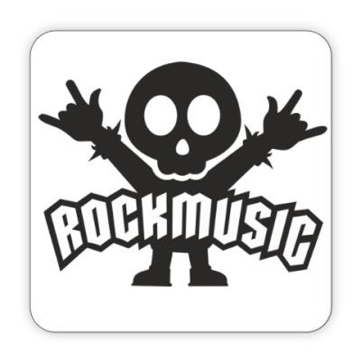 Костер (подставка под кружку)  Rockmusic