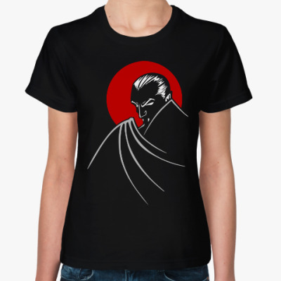 Женская футболка Дракула