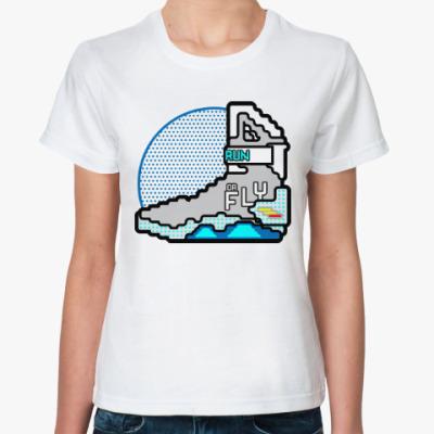 Классическая футболка Кроссовки (Назад в Будущее)