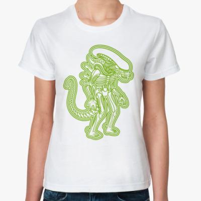 Классическая футболка Чужой Майя