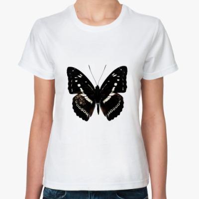 Классическая футболка Бабочка BLACK