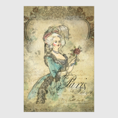 Постер Мария Антуанетта