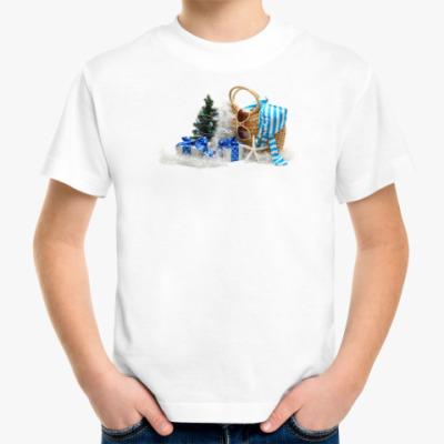 Детская футболка Новогодний подарок