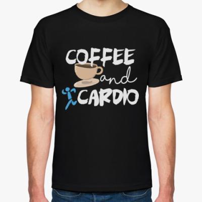 Футболка Кофе и кардио
