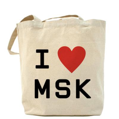 Сумка I LOVE MSK