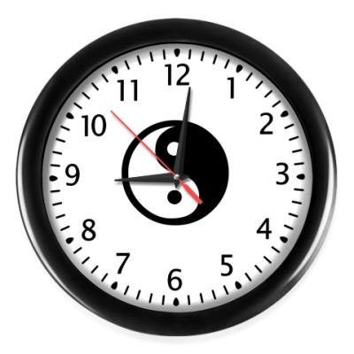 Настенные часы Инь-Янь
