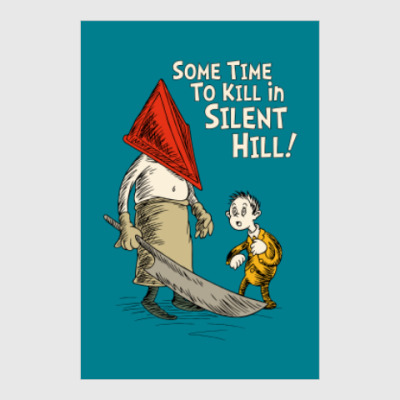 Постер Silent Hill Pyramid Head