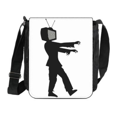 Сумка на плечо (мини-планшет) Зомби ТВ