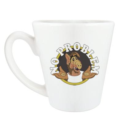 Чашка Латте Альф - нет проблем