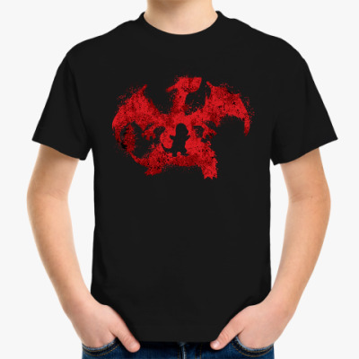 Детская футболка Чаризард
