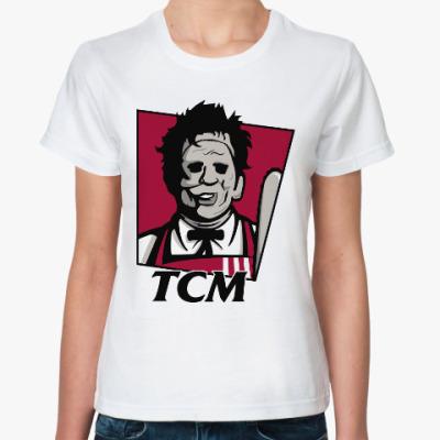 Классическая футболка Кожаное лицо