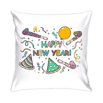 Подушка Happy New Year!