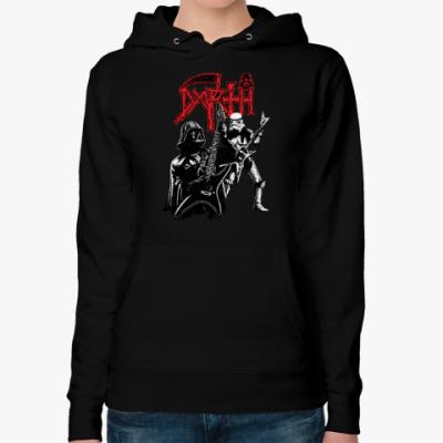 Женская толстовка худи Darth Metal
