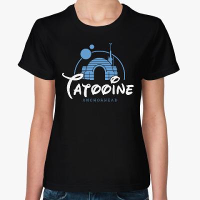 Женская футболка Татуин (Звездные Войны)