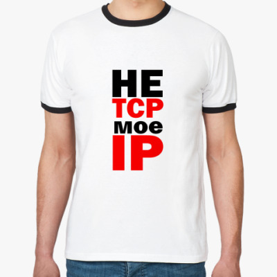 Футболка Ringer-T  'IP'