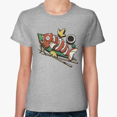 Женская футболка Суши