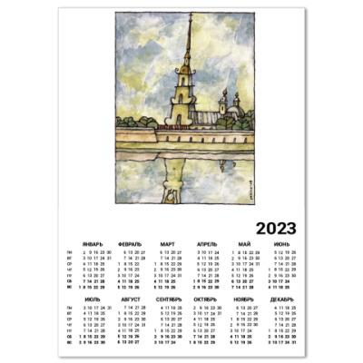 Календарь  Питер