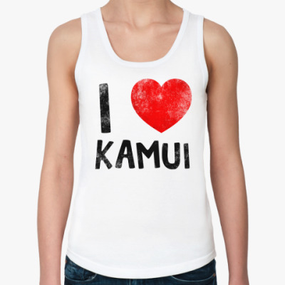 Женская майка I LOVE KAMUI