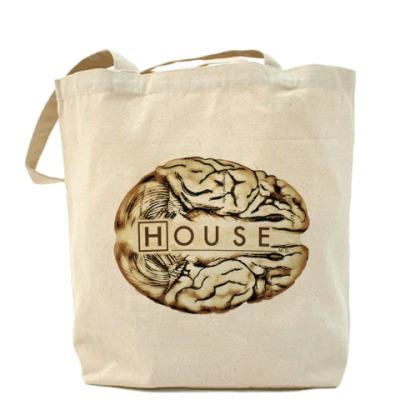 Сумка House brain Холщовая сумка