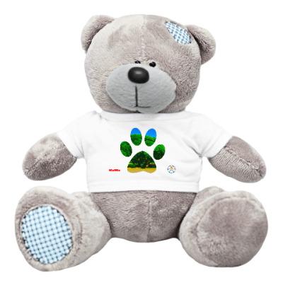 Плюшевый мишка Тедди След от лапки