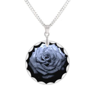 Кулон Готичная роза
