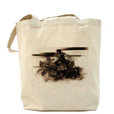 Сумка Холщовая сумка Паробайк