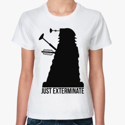 Классическая футболка Далек (Доктор Кто)