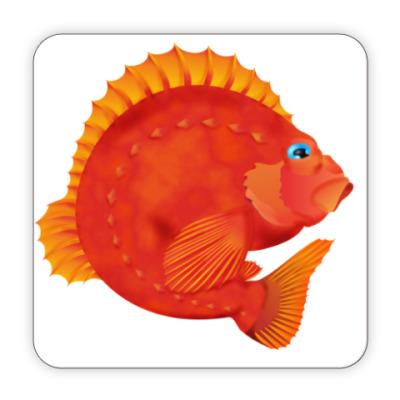 Костер (подставка под кружку) Морской окунь
