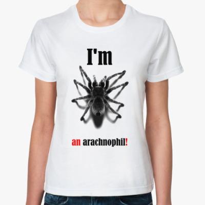 Классическая футболка Arachnophil