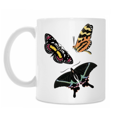 Кружка Бабочки