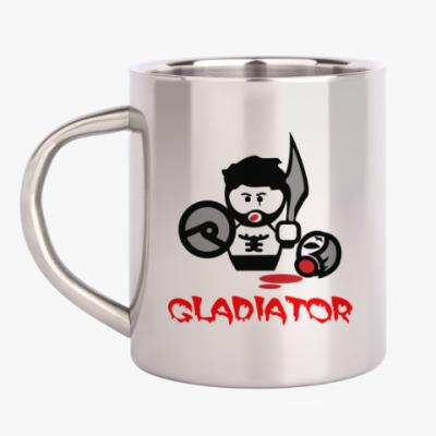Кружка металлическая Гладиатор